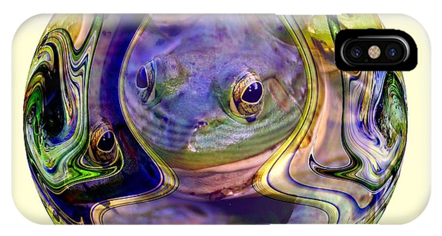 Frog IPhone X Case featuring the photograph Embryonic by Rick Rauzi