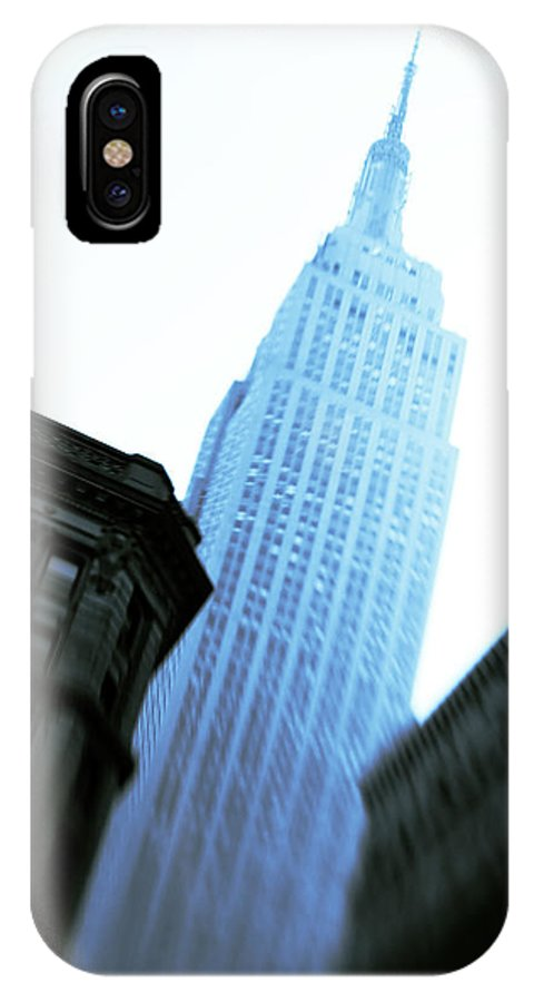 Empire State Building IPhone X Case featuring the photograph Empire State Building by Dave Bowman