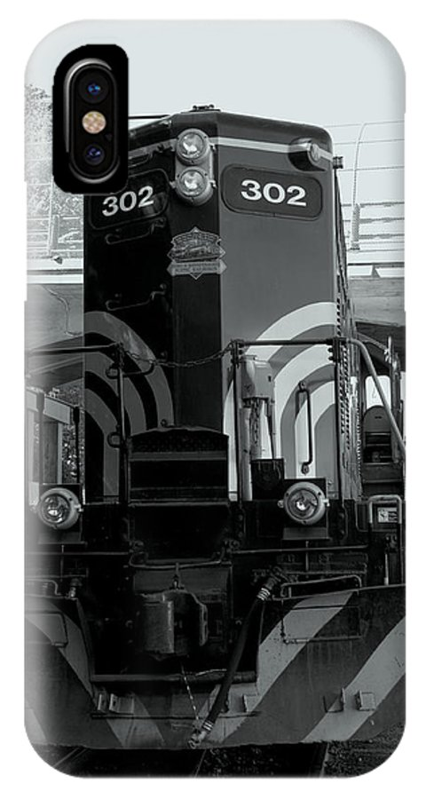 New England IPhone X Case featuring the photograph Engine 302 by Caroline Stella