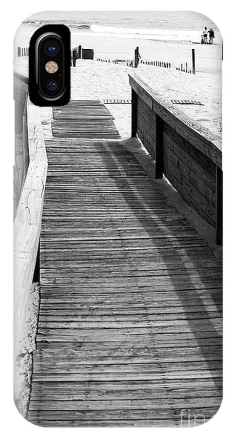 Enter Ocean Grove Beach IPhone X Case featuring the photograph Enter Ocean Grove Beach by John Rizzuto
