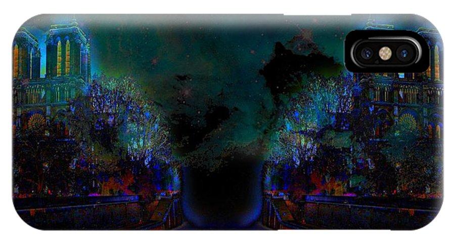 IPhone X Case featuring the digital art Errare Humanum Est Perseverare Diabolicum by Jean-Jacques Oppringils