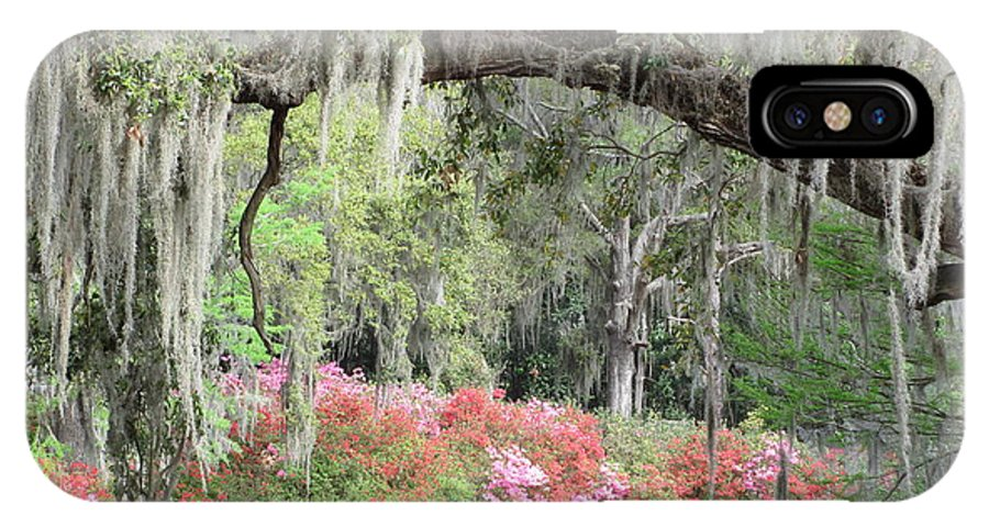 Estherville IPhone X Case featuring the photograph Estherville Plantation by Anita Adams
