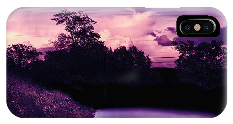 Ethereal IPhone X Case featuring the photograph Ethereal by Dustin Lake