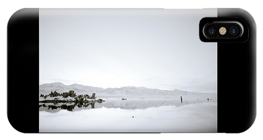 Inspiration IPhone X Case featuring the photograph Ethereal Mono Lake by Shaun Higson