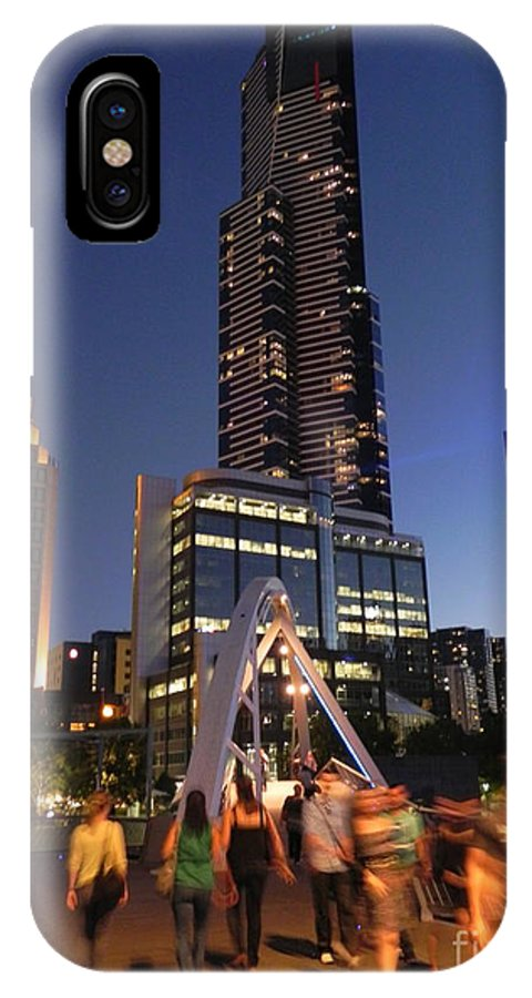Eureka IPhone X Case featuring the photograph Eureka Tower by Ryan Lynch