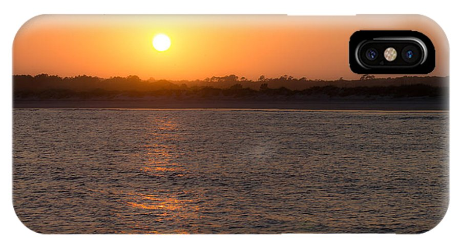 Sunset IPhone X Case featuring the photograph Evening Peace by Jessica Brown