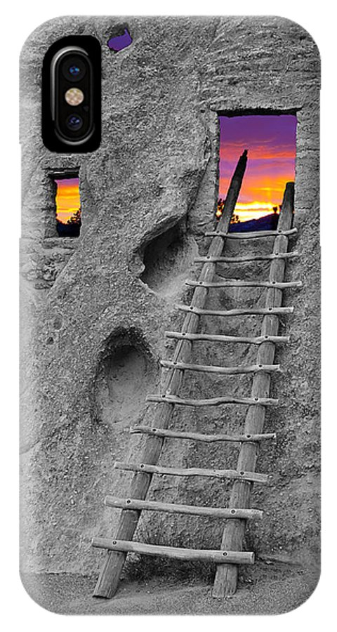 New Mexico IPhone X Case featuring the photograph Exist Strategy by Greg Wells