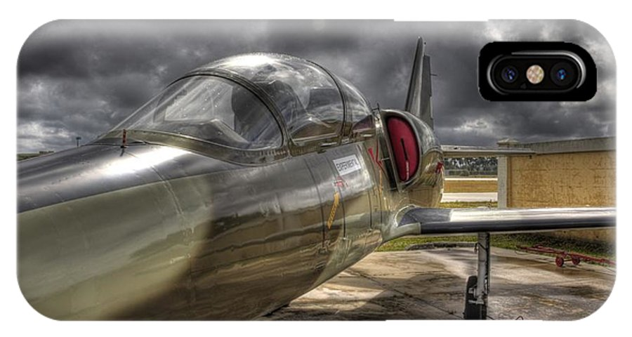 Aircraft IPhone X Case featuring the photograph Experimental by TJ OHare