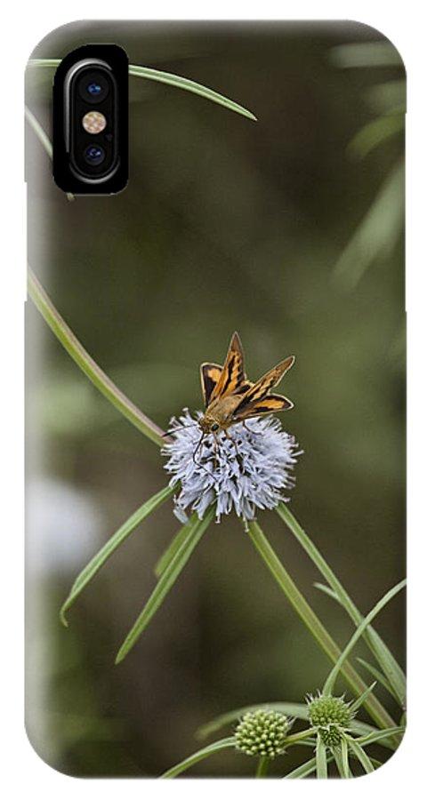 Moth IPhone X Case featuring the photograph Fa-18ef Super Hornet Moth by Douglas Barnard