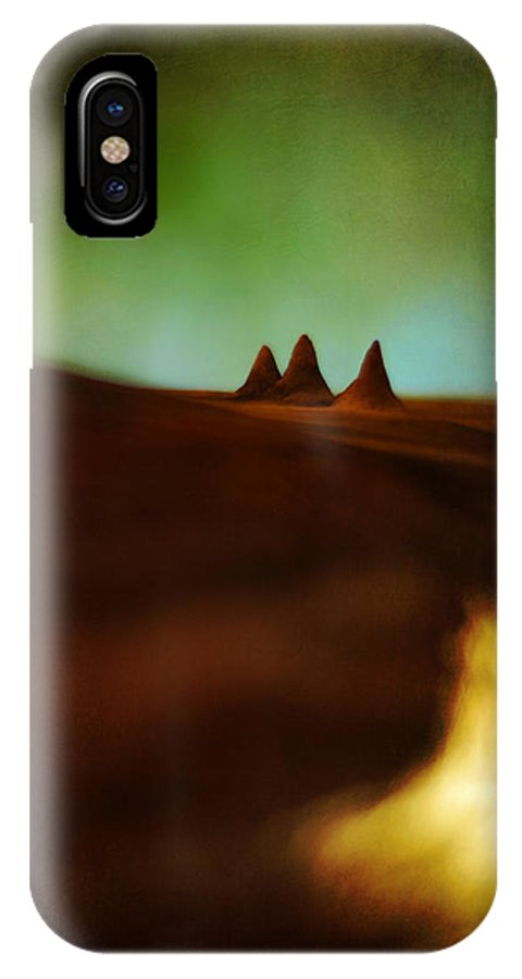 Miniature Landscape IPhone X Case featuring the photograph Fairies Giza by Rebecca Sherman