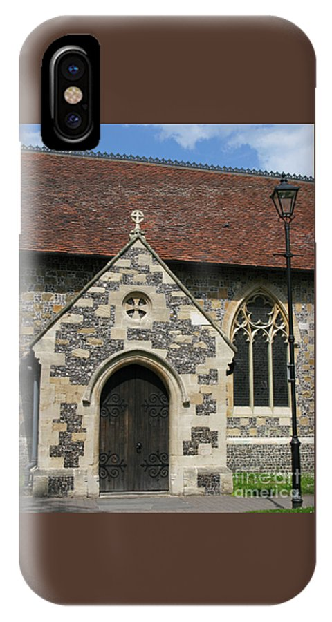 Church IPhone X Case featuring the photograph Faithful by Ann Horn
