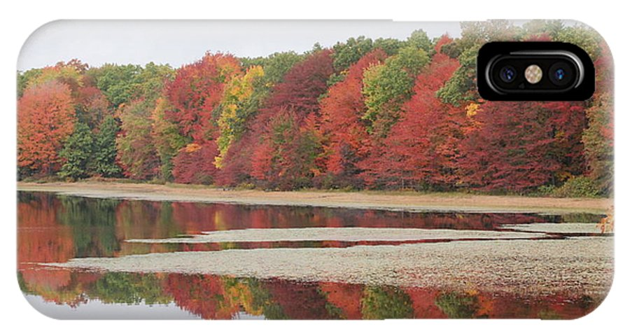 Fall IPhone X Case featuring the photograph Fall Colors - 3 by Victoria Feazell