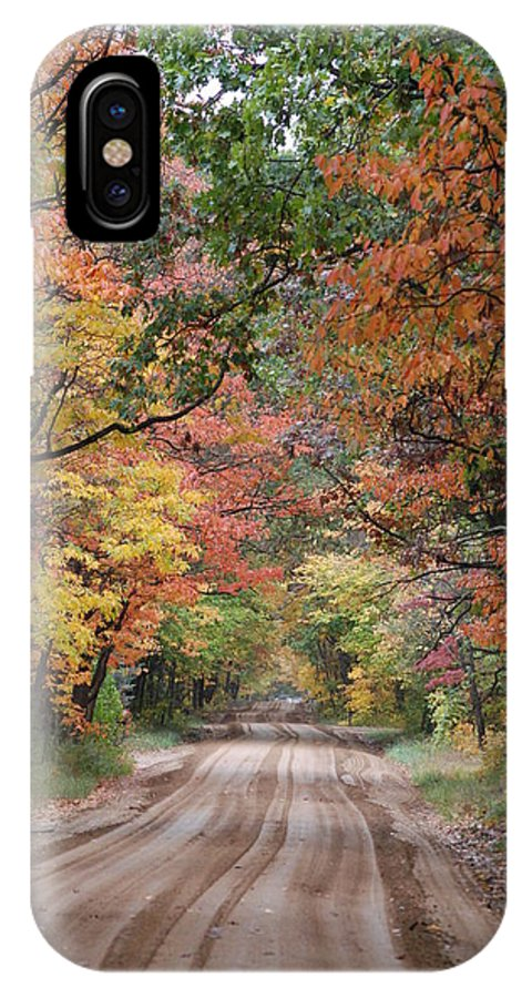 Fall IPhone X Case featuring the photograph Fall Colors - 2 by Victoria Feazell