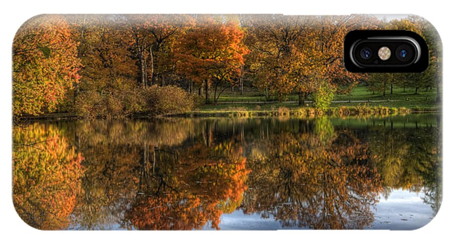 Fall IPhone X Case featuring the photograph Fall Colors by Lindley Johnson