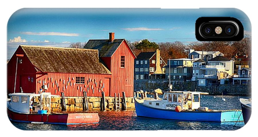 Atlantic Ocean IPhone X Case featuring the photograph Fall Comes To Rockport by Tricia Marchlik