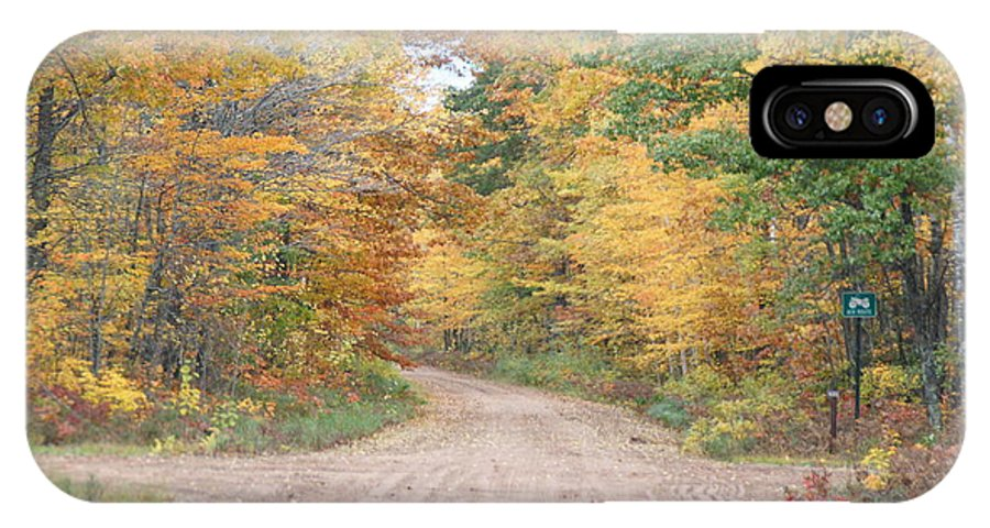 Fall IPhone X Case featuring the photograph Fall Foliage by John Welling