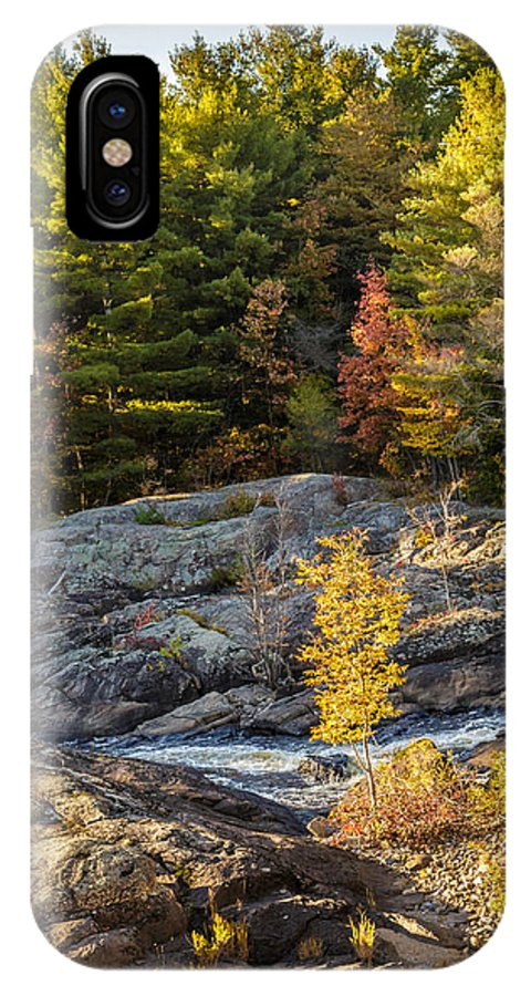 Ny IPhone X Case featuring the photograph Fall In Forestport Ny by MaryGail Perkins