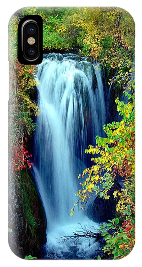 Waterfalls IPhone X Case featuring the photograph Falling by John Currie