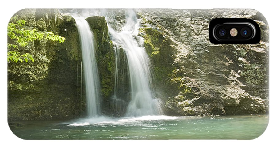 Streams IPhone X Case featuring the photograph Falls Creek Falls by Robert Camp
