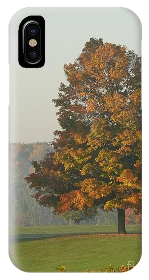 Fall IPhone X / XS Case featuring the photograph Falltime by Steven Woodard