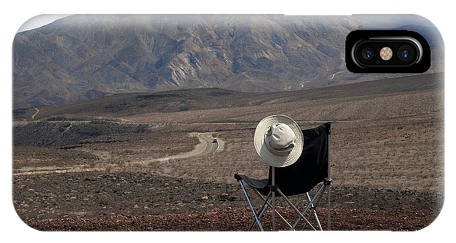 Highway IPhone X Case featuring the photograph Far As My Eyes Can See by Joe Schofield