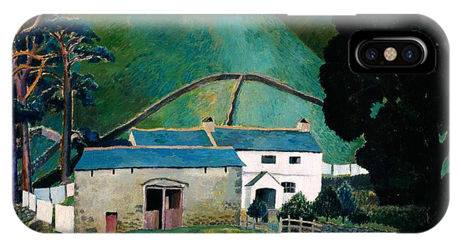 Dora Carringtonfarm At Watendlath IPhone X / XS Case featuring the painting Farm At Watendlath by Celestial Images