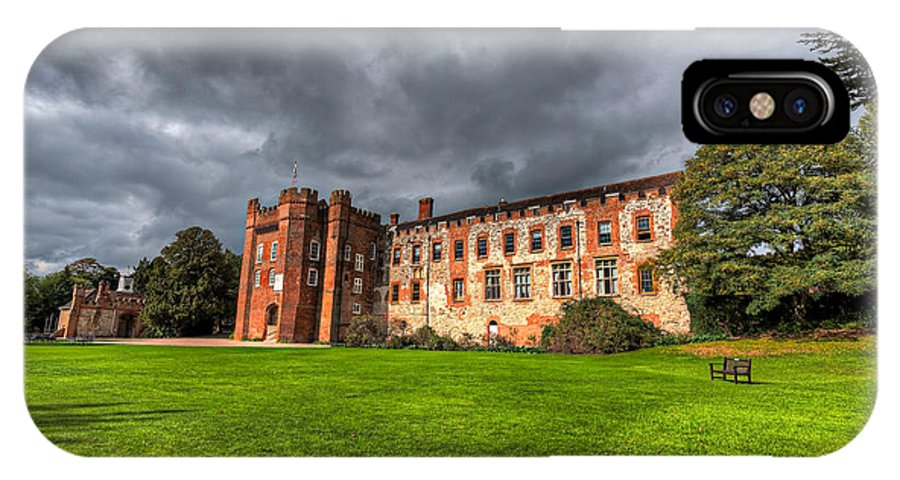 5d Mkii IPhone X Case featuring the photograph Farnham Castle by Graham Markham