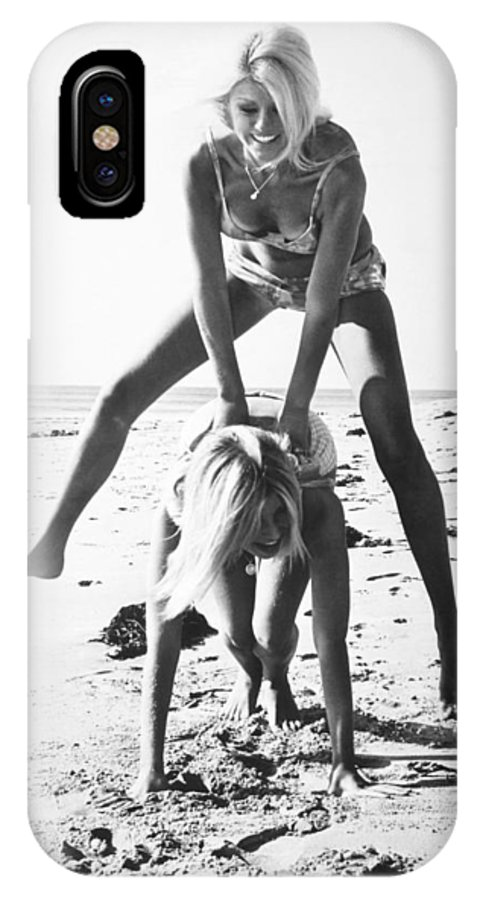 1964 IPhone X Case featuring the photograph Fashion: Womens Swimsuits by Granger