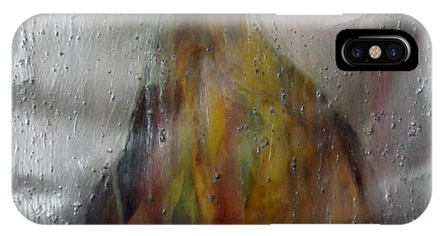 Pear IPhone X Case featuring the painting Fat Bottom Girl by Shelli Finch