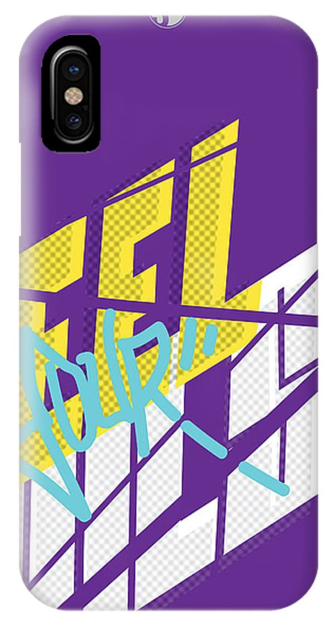 Digital IPhone X / XS Case featuring the digital art Feel Your Pulse 3 by Santos