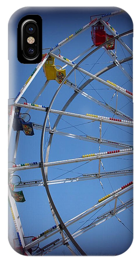 Ferris Wheel IPhone X Case featuring the photograph Ferris Wheel II by Beth Vincent