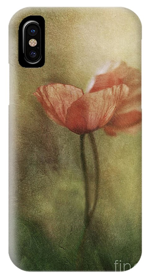 Poppy IPhone X Case featuring the photograph Fields Of Love by Maria Ismanah Schulze-Vorberg