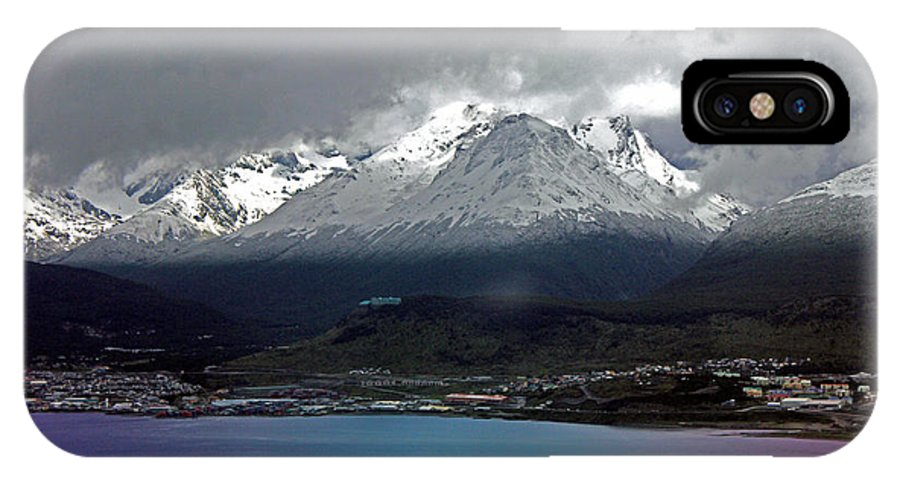 Landscape IPhone X Case featuring the photograph Fin Del Mundo by Brittany Dolan