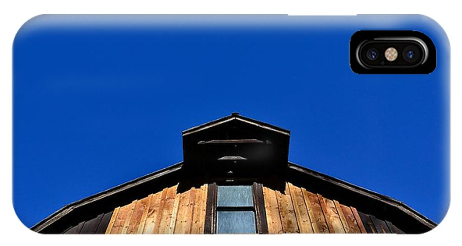 Phil Dionne Photography IPhone X Case featuring the photograph Fintry Barns V by Phil Dionne