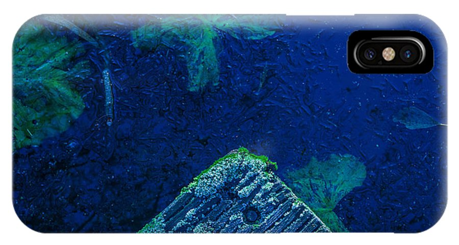 First Frost IPhone X Case featuring the photograph First Frost-1 by Casper Cammeraat