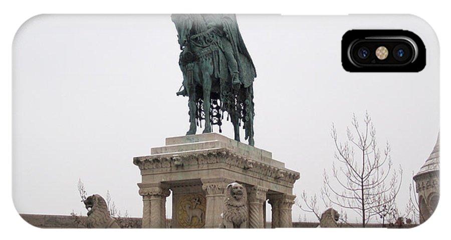 Budapest IPhone X Case featuring the photograph Fishermen's Bastian by Deborah Smolinske