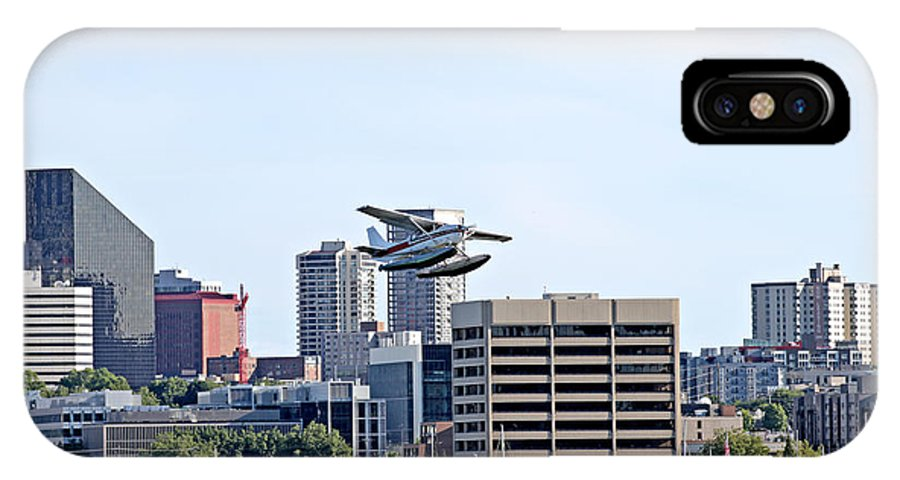 Seattle IPhone X Case featuring the photograph Float Plane by Paul Fell