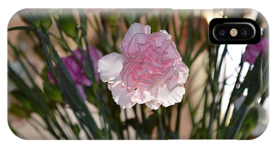 Gina Porto IPhone X Case featuring the photograph Floral Standout by Sonali Gangane