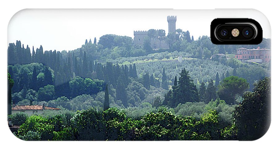 Italy IPhone X Case featuring the photograph Florence Landscape by Irina Sztukowski