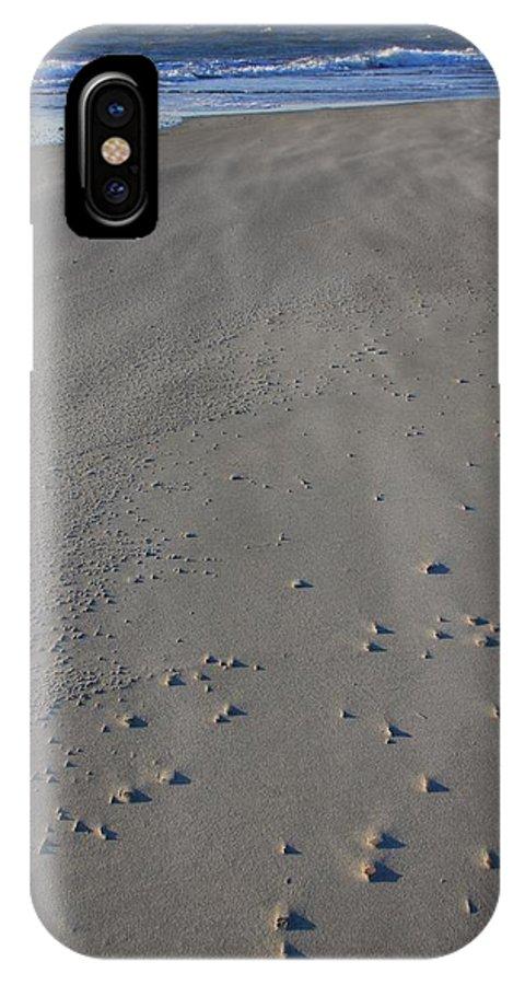 Folly Beach IPhone X Case featuring the photograph Folly Beach Sc by Mountains to the Sea Photo