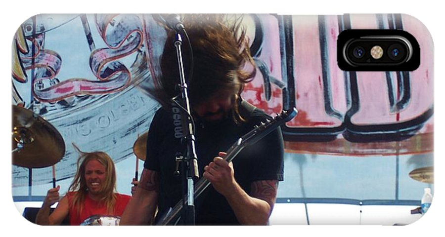 Foo Fighters Love Ride 25 IPhone X Case featuring the photograph Foo Fighters Love Ride 25 by Linda De La Rosa