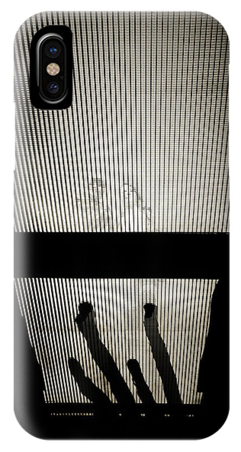 Bridge IPhone X Case featuring the photograph Footsteps And Faces by Lenny Carter