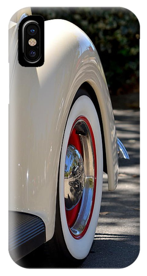 IPhone X Case featuring the photograph Ford Fender by Dean Ferreira