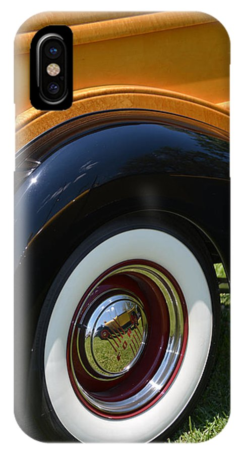 Ford IPhone X / XS Case featuring the photograph Ford Wagon by Gale Cochran-Smith