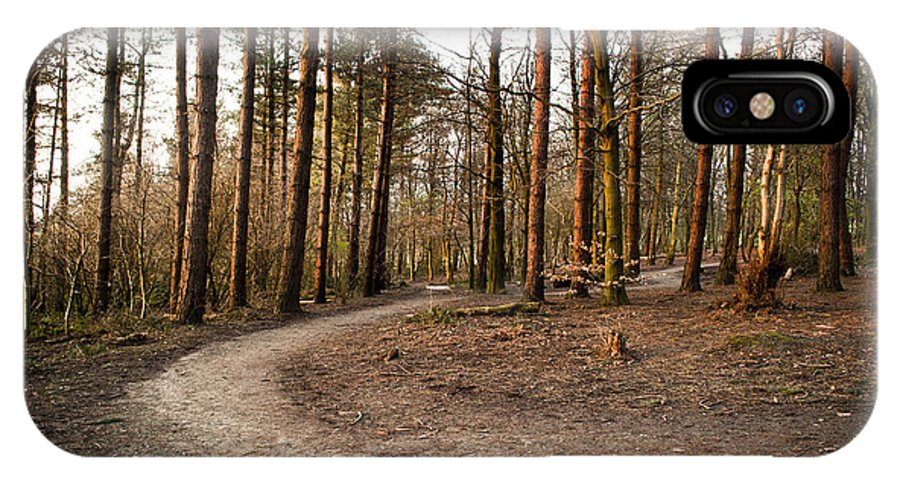 Forest IPhone X Case featuring the photograph Forest Path by Ben Davis