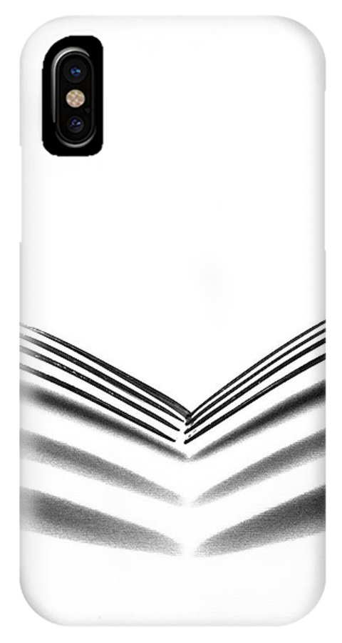 Abstract IPhone X Case featuring the photograph Forks by Apurva Madia
