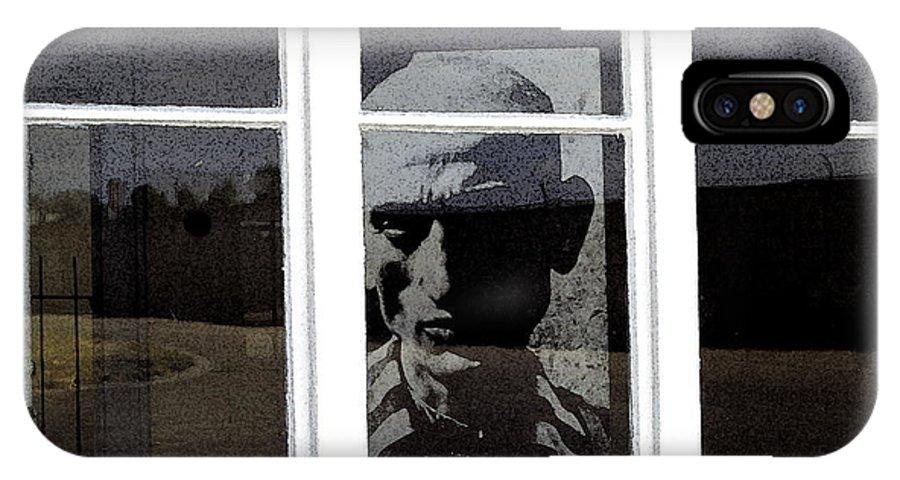Sachsenhausen Concentration Camp IPhone X Case featuring the digital art Former Concentration Camp Sachenhausen by Ronald Jansen