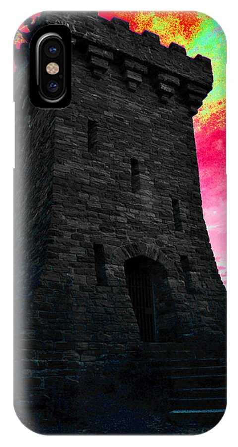 Abstract Art IPhone X Case featuring the photograph Fort Ethan Allen Abstract by Wendell Ducharme Jr