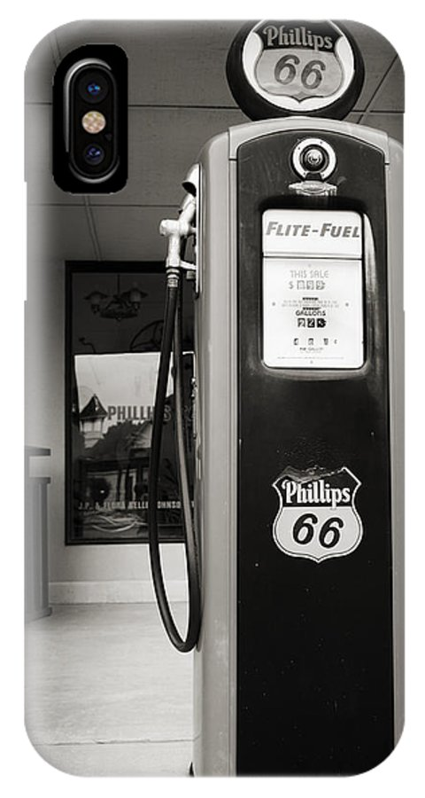 Phillips IPhone X Case featuring the photograph Forty Cents A Gallon by Ricky Barnard