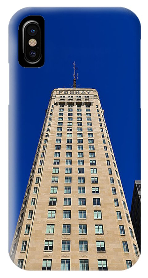 Foshay Tower IPhone X Case featuring the photograph Foshay Tower by Rachel Cohen